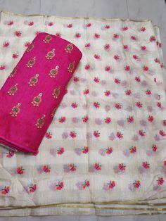 Silk Kota sarees with designer blouse | ElegantFahionWear