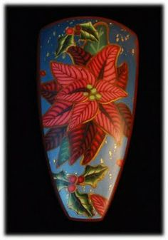 Follow the link to Julie Eakes wonderful poinsettia tutorial....