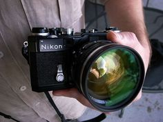 Nikon SP 2005 with a Nikkor-N 5cm f1.1 lens