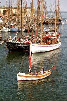 Marstal Harbour II   Flickr - Photo Sharing!