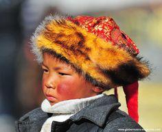 Boy at the Jokhang temple, Lhasa, TIBET
