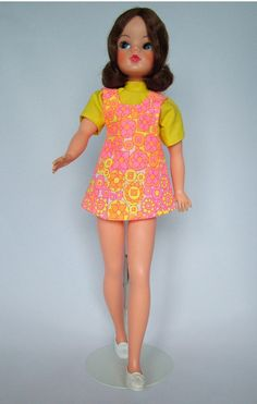 1972 Sindy - Our Sindy Museum Vintage Barbie, Vintage Dolls, Night Outfits, Cool Outfits, Tammy Doll, Sindy Doll, Trendy Girl, Retro Toys, Barbie Dress