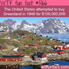 - Fact- : The United Stated wanted to buy Greenland - WTF fun facts www.letstfact.com