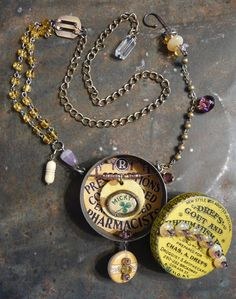 The Secret Lives of Pills Rosarita by fuzzerbee on Etsy
