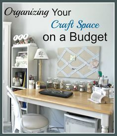 How To Store Your Craft Supplies In A Small Space | Pinterest | Space Crafts,  Craft Storage And Storage Ideas