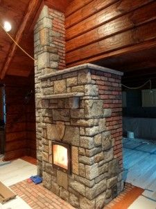 first place in Masonry Heater contest (oven on back side) Wood Stove Heater, Stove Oven, Indoor Pizza Oven, Brick Masonry, Rocket Stoves, Wood Burner, Fireplaces, Hearth, Great Rooms