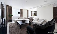 Elegant Apartment Interior in Zelenograd- Alexandra Fedorova
