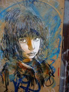 street art by Christian Guémy