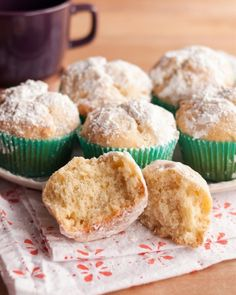 Holiday Recipe: Eggnog Doughnut Muffins