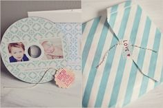 This would be a good idea to personalize packaging for sending photos to clients!