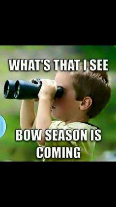 Deer season is almost here.