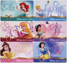 "All 6 Disney ""heart of a Princess"" Gift Cards Ariel Cinderella Belle 2010 for sale online Disney Gift Card, Disney Cards, Disney S, Princess Gifts, Disney Princess Party, Autograph Book Disney, Suit Card, Barbie Life, Princesas Disney"