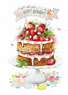 Happy Birthday Greetings Friends, Happy Birthday Wishes Images, Happy Birthday Flower, Birthday Blessings, Happy Birthday Pictures, Happy Birthday Sister, Happy Birthdays, 21 Birthday, Birthday Cards