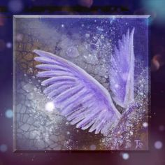 Photo Animation of Angel Wings  #animation #angelwings #painting #art #video #photomotion #photoanimation Angel Art, Saturated Color, Angel Wings, Painting Art, Modern, Print Design, Angels, Animation, Display