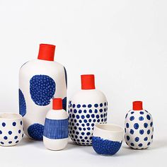 Discover thousands of images about Best Ceramics Tips : – Picture : – Description Jean-Marc Fondimare and Eric Hibelot, A. L'Atelier des Garçons -Read More – Ceramic Tableware, Glass Ceramic, Ceramic Pottery, Ceramic Art, Blue Pottery, Ceramic Studio, Kitchenware, Earthenware, Stoneware