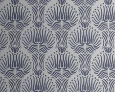 Art Deco Flora Pattern