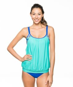 NEXT Perfection Double Up Tankini Top