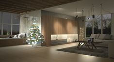 Custom Furniture, Furniture Ideas, Divider, Chandelier, Ceiling Lights, Living Room, Lighting, Home Decor, Room Decor