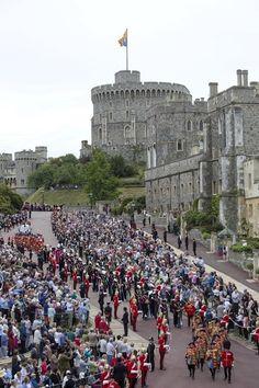 Windsor Castle in Berkshire, England