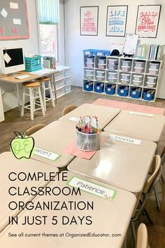 So Much More Than Just Classroom Decor. Want a step-by-step system manual with all the digital files you'll need to organize your classroom in just 5 days? Stop by and see all your theme options! #classroomdecor #classroominspiration Teacher Freebies, Classroom Freebies, Fourth Grade, Second Grade, Teaching Kindergarten, Teaching Ideas, Classroom Organization, Classroom Decor, First Grade Teachers