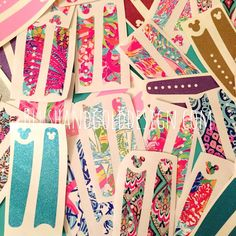 Lilly Pulitzer and Glitter Disney Magic Bands only $5!!!