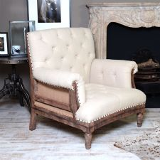 Deconstructed Tufted Chair