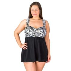 fa996486cc366 Brushstrokes Grommet Swimdress By Longitude - Gold - Final Clearance - NO  RETURNS Plus Size Swimsuits