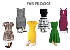 """""""Fab Frocks"""" by janyclaire29 on Polyvore featuring WithChic, RED Valentino, Chicwish, Versace, Hervé Léger, Chinese Laundry, Jimmy Choo, Neiman Marcus, Christian Louboutin and Brian Atwood"""