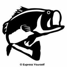 Free Largemouth Bass Stencils Google Search Crafts