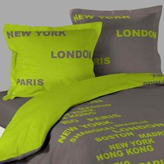 1000 images about housses de couette new york on pinterest new york usa flag and new york city. Black Bedroom Furniture Sets. Home Design Ideas