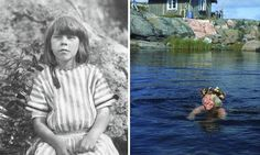 All ages … Tove Jansson, pictured as an eight-year-old, and as an adult. Photograph: © Moomin Characters Ltd