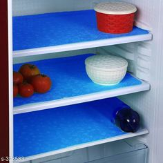 Checkout this latest Fridge Covers_0-500 Product Name: *LooMantha PVC Refrigerator Drawer Mat, Pack of 3 * Material: PVC Description: It Has 3 Pieces Of Refrigerator Drawer Mats Country of Origin: India Easy Returns Available In Case Of Any Issue   Catalog Rating: ★4.1 (623)  Catalog Name: PVC Refrigerator Drawer Mats Combo Vol 1 CatalogID_34581 C131-SC1623 Code: 131-326583-702