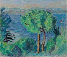 Pierre Bonnard, I due pini (Dintorni di Cannes), 1914  Fonte: Facebook / Arte Moderna