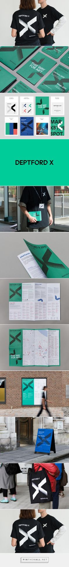 New Logo & Branding for Deptford X by IYA Studio — BP&O - created via https://pinthemall.net