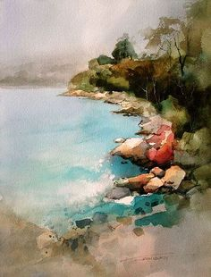 John Lovett #watercolor jd http://www.SeedingAbundance.com http://www.marjanb.myShaklee.com #watercolorarts