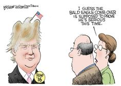 Political Cartoons of the Week: Donald Trump, Seriously