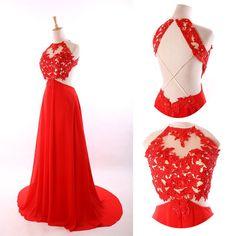 dress, red dress, prom dress, red prom dress, chiffon dress, backless dress, elegant dress, dress prom, red chiffon dress, red backless dress, backless prom dress