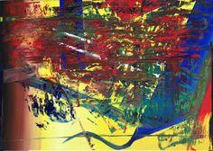 Abstract oil painting - RM 815 - 16 (Painting),  140x100x1.8 cm by Rico Mocellin Die Ölgemälde haben eine abstrakte Stil, viele Farben werden verwendet, um das Ergebnis sind bunte Kunstwerke mit unterschiedlichen Texturen.  Rico Mocellin's Kunstwerke sind das Ergebnis seiner Verrücktheit, in Farben umgewandelt.