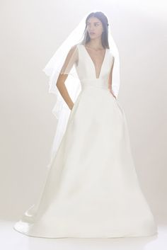 Vestido de novia de Carolina Herrera 2016