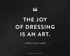John Galliano #signaturestyle https://www.pinterest.co.uk/dcindcmedia/