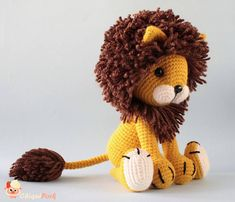 Please note that this is a crochet pattern, NOT the finished toy. The PDF amigurumi lion tutorial will be available for download immediately after purchase. Available in English and Spanish. ABOUT THE PATTERN: This crochet pattern contains a detailed description of how to create Tyrion
