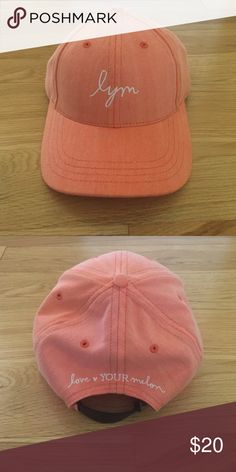 Brand New Love Your Melon Baseball Cap Bought but never worn because I didn't like the way it looked on me. A very cute orange color. Love Your Melon Accessories Hats