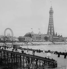 Blackpool, Paris Skyline, Travel, Viajes, Destinations, Traveling, Trips
