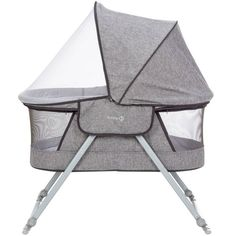 Safety Nap and Go Travel Bassinet - Nightfall Baby Fabric, Organized Mom, Mesh Netting, Retractable Canopy, Baby Sleep, Baby Love, Baby Strollers, Target, Halo Bassinet