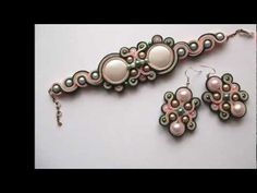 Soutache Soutache Jewelry, Beaded Earrings, Beaded Jewelry, Beaded Bracelets, Soutache Tutorial, Seed Bead Patterns, Beading Patterns, Beads And Wire, Shibori