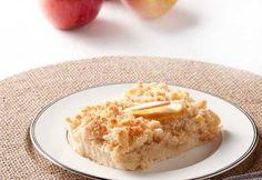 Cuca de maçã: A melhor receita! - Receita do Dia Krispie Treats, Rice Krispies, Macaroni And Cheese, Oatmeal, Food And Drink, Diet, Breakfast, Ethnic Recipes, Desserts