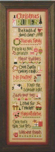 Christmas Rules Double Flip - Reindeer/Mistletoe