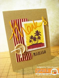 Claire Brennan/Waltzingmouse Makes. Country Fair, Cool Cards, Creative Cards, Clear Stamps, Summer Fun, Paper Shopping Bag, Thank You Cards, Cardmaking, Greeting Cards