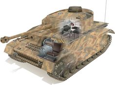 Panzer 4, tank, WW2.