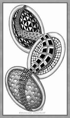 Zentangle® Inspired Art by Simone Bischoff